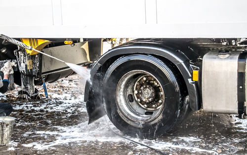 full service truck trailer wash